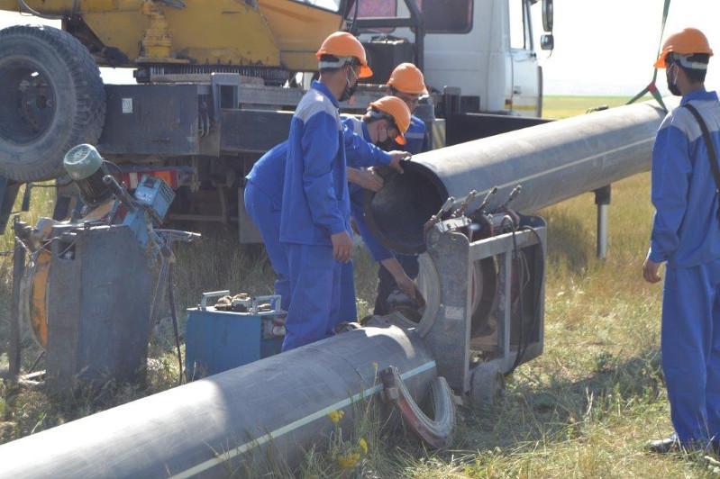Начаты работы по газификации 5 поселков Кордайского района