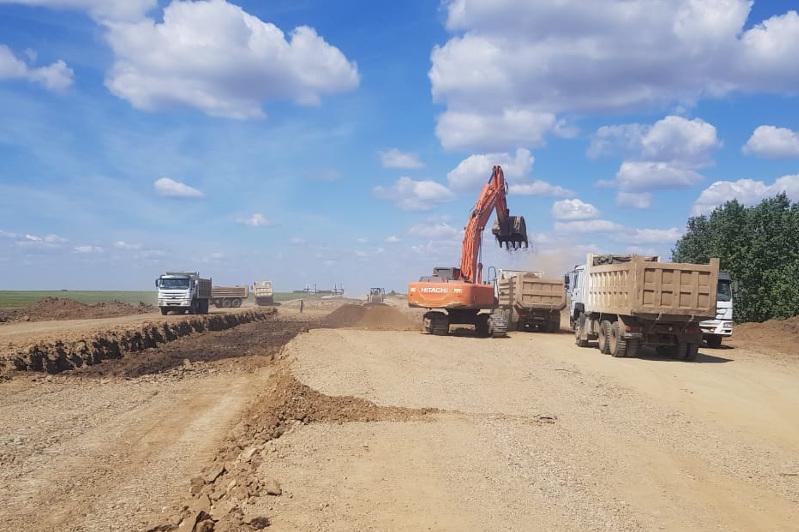 Движение на 65 километрах трассы Карабутак - Костанай откроют до конца года