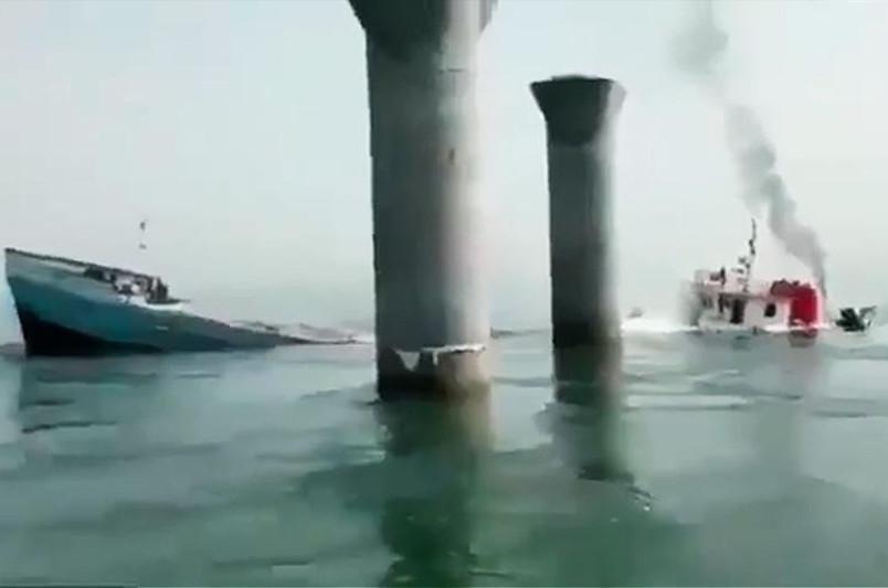 伊朗一货船在伊拉克海域沉没 1人死亡2人失踪