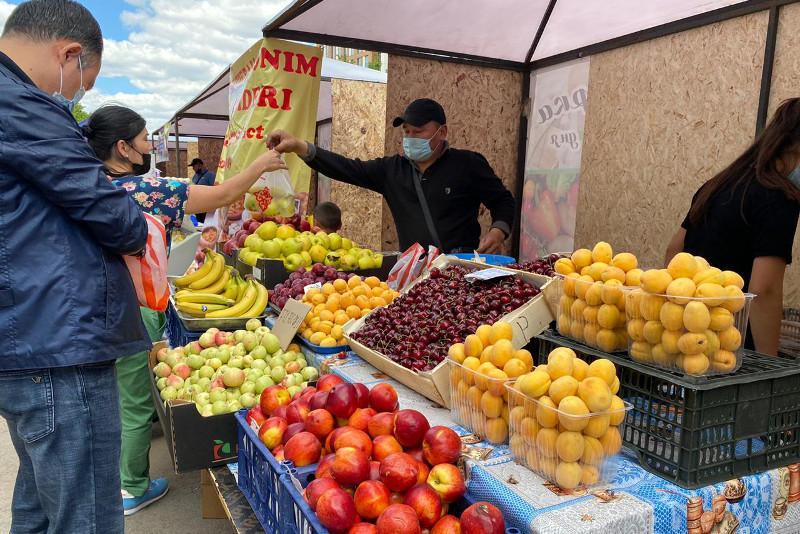 В столичном районе «Есиль» проходит сельскохозяйственная ярмарка