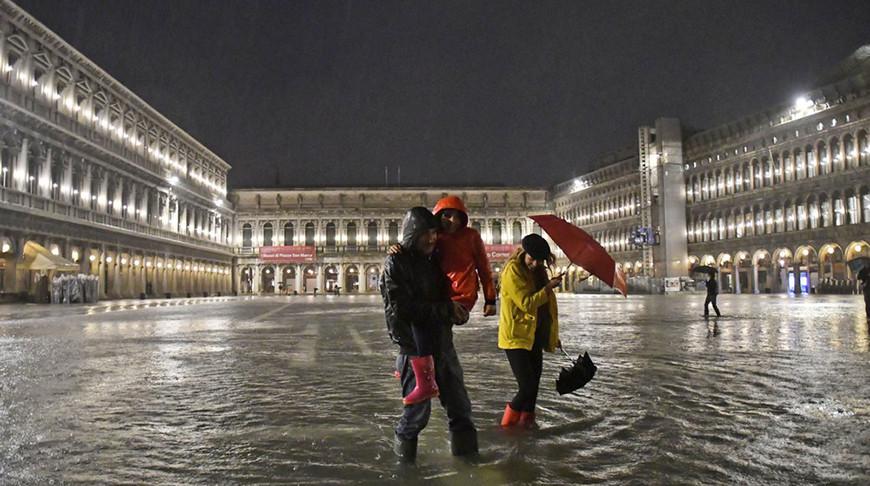 Venetsııanyń 25 protsenti sý astynda qaldy