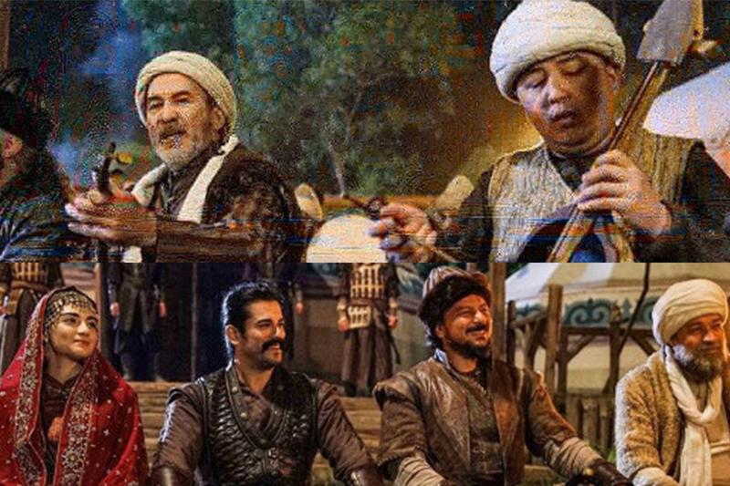 Казахстанец сыграл на кобызе в турецком сериале о становлении Османской империи