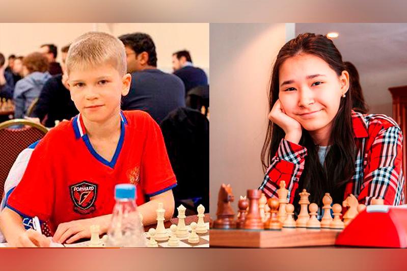 Юношеские сборные Казахстана и России сразились в онлайн матче по шахматам