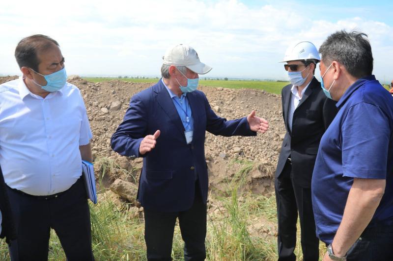 Бердибек Сапарбаев раскритиковал реализацию в Кордайском районе проекта повышения доходов сельчан