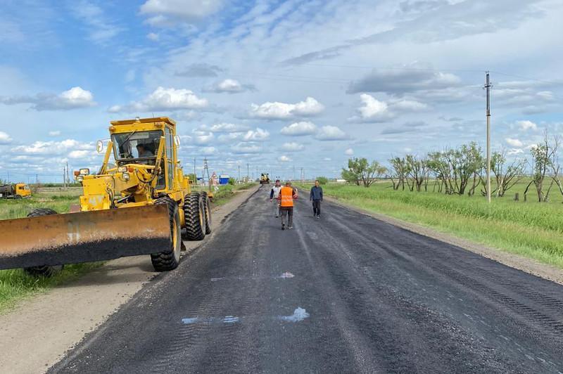 Более 1000 км автодорог обновится в Северном Казахстане