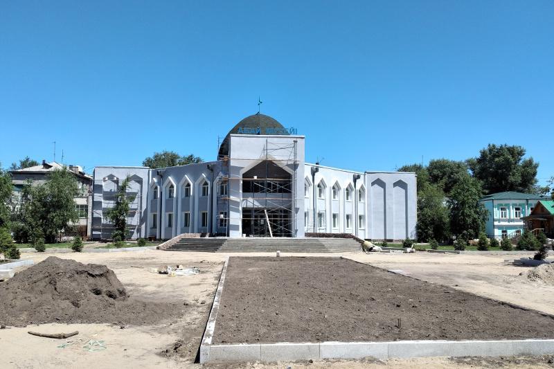 Масштабный ремонт в музее Абая в Семее продолжается