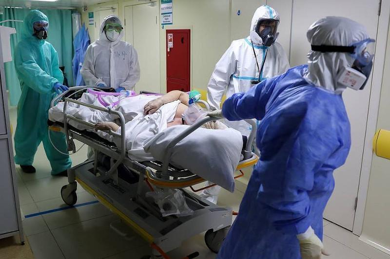 Russia's coronavirus cases surpass 537000