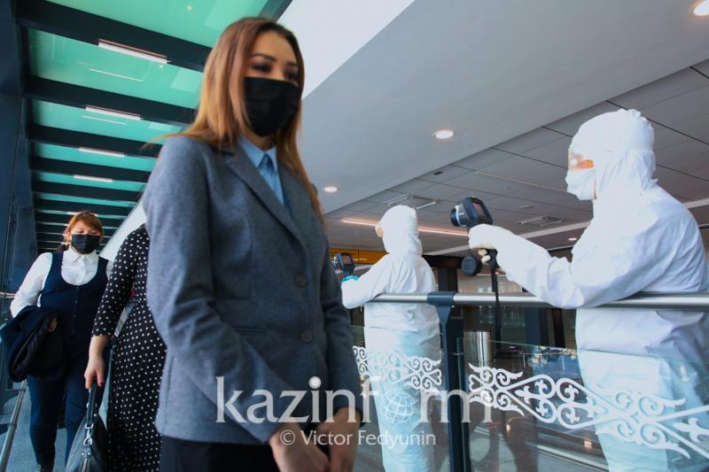Изменены правила для прибывающих самолетом в Казахстан пассажиров