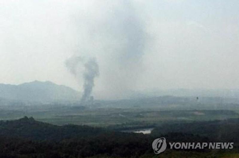 韩媒:朝鲜爆破开城韩朝联办