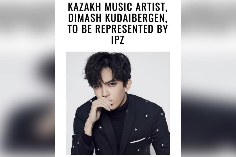 Kazakhstan's Dimash Kudaibergen signs contract with IPZ