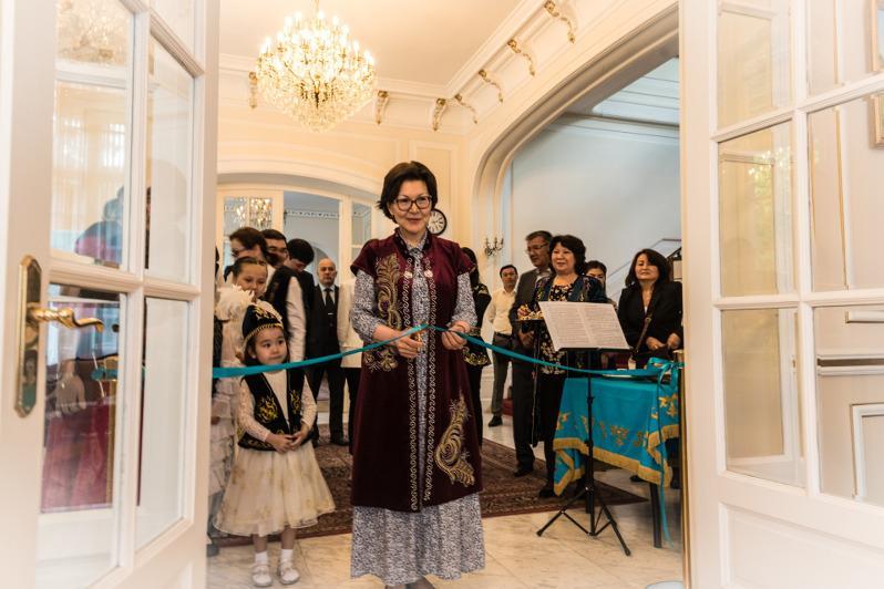 Kazakh Cultural Centre unveils in Belgium
