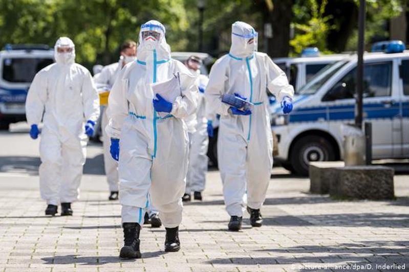 德国肉类加工厂1300多人感染新冠病毒