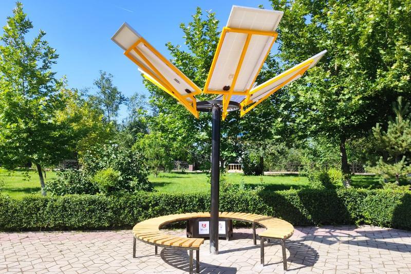 Wi-Fi появился в парках Шымкента