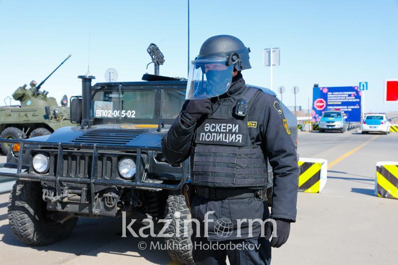 Блокпосты вновь установили на выезде из Кокшетау и Степногорска