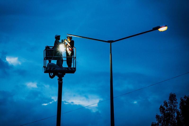 Уличное освещение Нур-Султана будет энергоэффективным