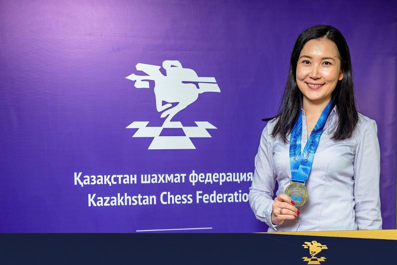 Kazakhstani female chess player awarded world grandmaster title