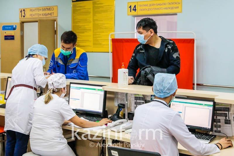 Как борются с нехваткой мест в больницах Алматы
