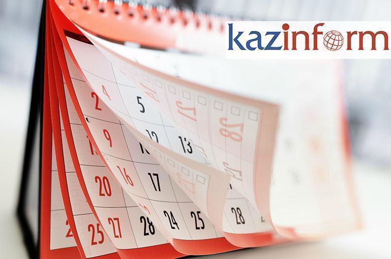 June 27. Kazinform's timeline of major events