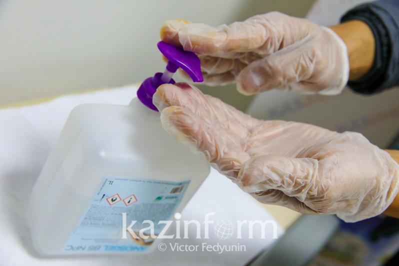 Коронавирус неустойчив к средствам дезинфекции — эпидемиологи Алматы