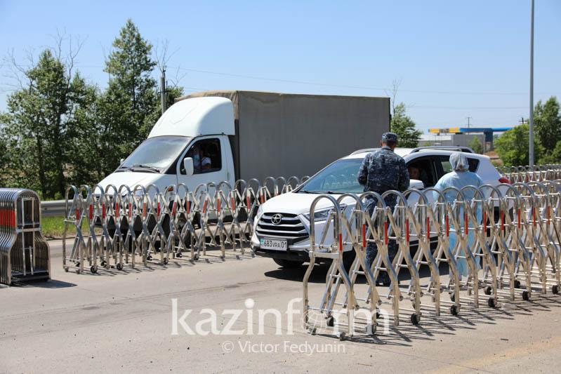 Алматы облысында блокпостар қайта қойыла ма: Әкімдік жауабы