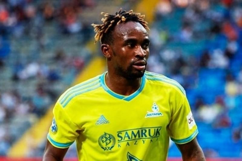 FC Astana announce Ndombe Mubele's exit