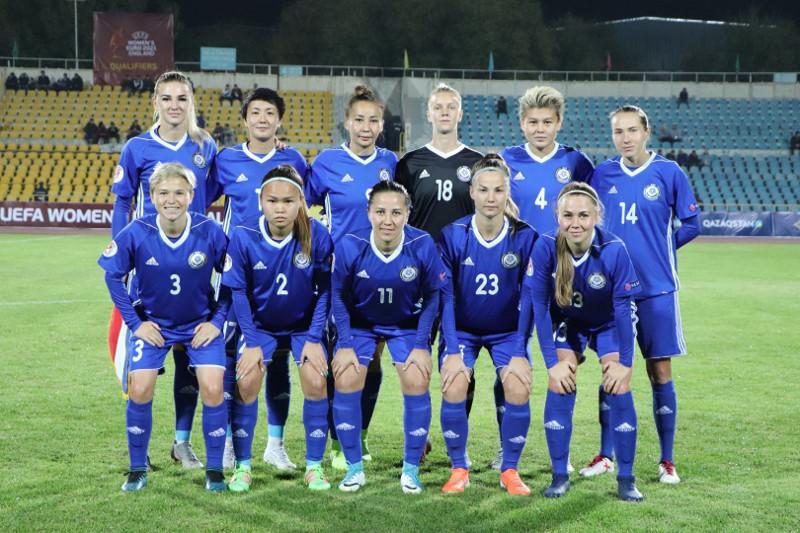 Женская сборная Казахстана по футболу не изменила свое положение в рейтинге ФИФА