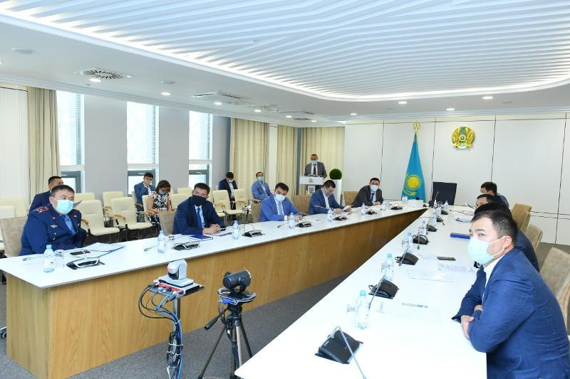 Усилить работу в борьбе с пандемией поручил аким Туркестанской области