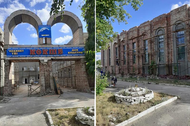 Объекты культуры ремонтируют в Акмолинской области