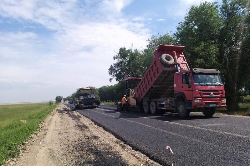 Более 1200 км дорог отремонтируют в Туркестанской областив этом году