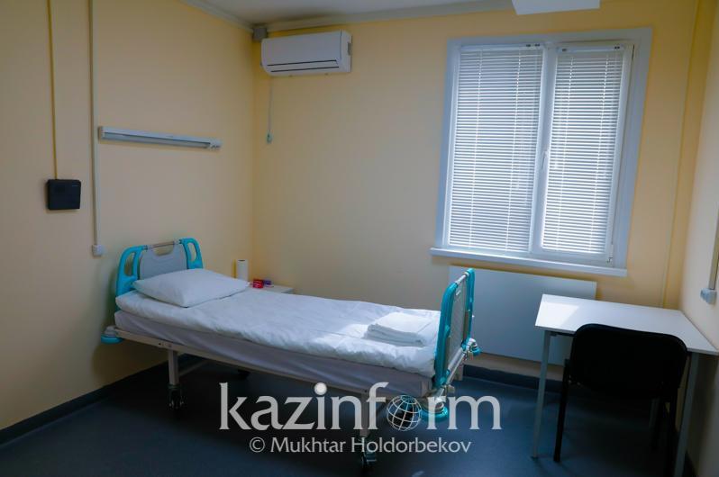 哈萨克斯坦各医院8月底前将增加1万个病床床位