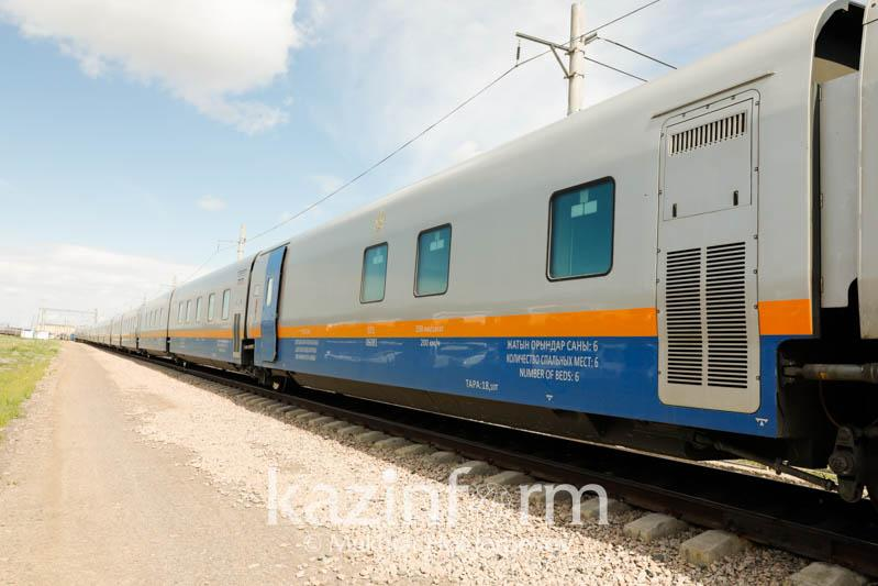 Kazakhstan temporarily suspends trains in three directions