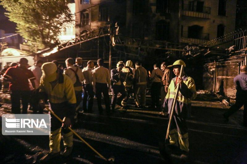 Пожар и взрыв произошли в медклинике в Тегеране: погибли 19 человек
