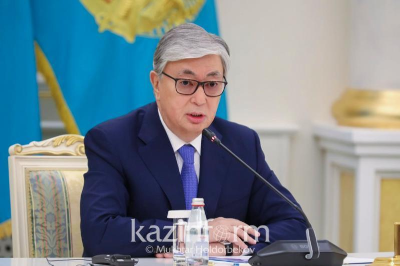 Kazakh President thanks Russia for humanitarian aid