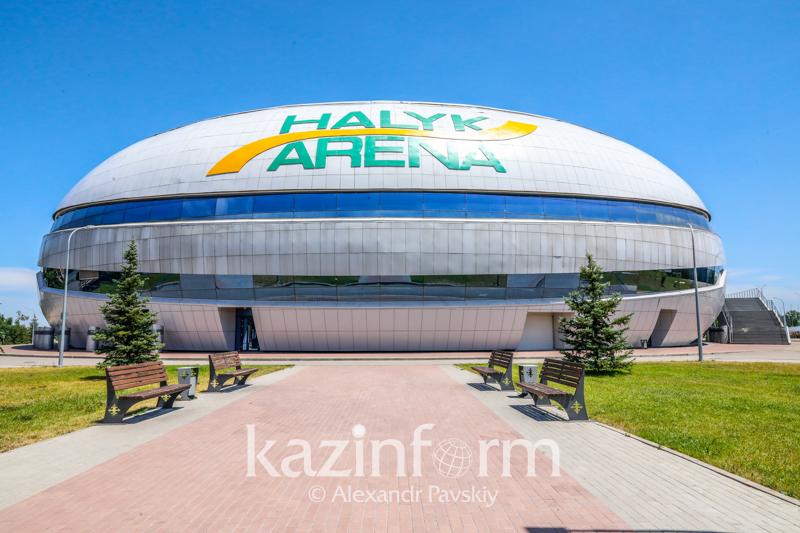Halyk Arena готовят к приему заболевших коронавирусом: в соцсетях появилось видео