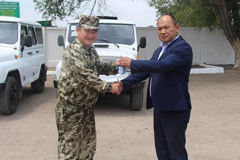 Жамбылдық орманшыларға 20 жаңа техника табыс етілді