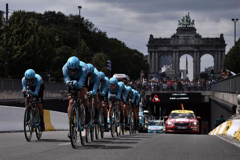 «Астана» велокомандасы «Тур де Франс» веложарысына қатысады