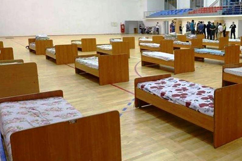 巴甫洛达尔州将体育场和疗养院改为临时医院