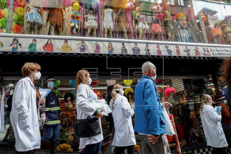 Brazilian state requires masks in bid to slow coronavirus spread