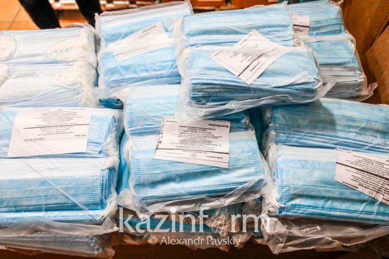 681 тысячу штук масок в сутки производят в Казахстане