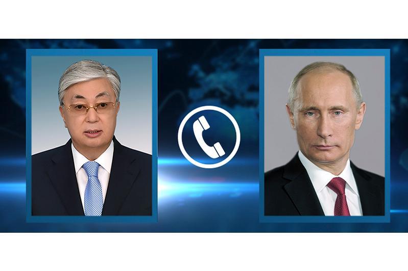 Presidents of Kazakhstan, Russia talk over phone
