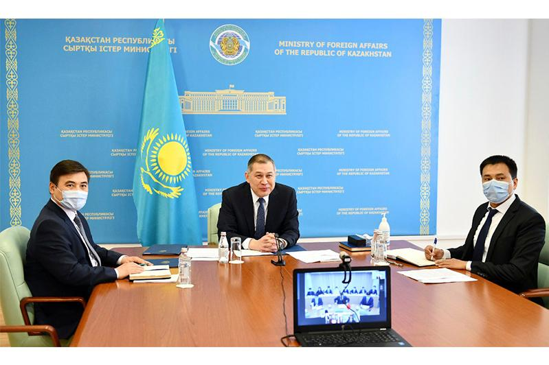 О заседании совместных комиссий  в онлайн-режиме договорились Казахстан и Китай