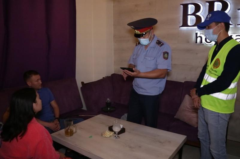 Рейды по соблюдению карантина проводят в Нур-Султане