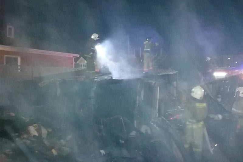 79-летнего дедушку спасли из пожара в Кокшетау