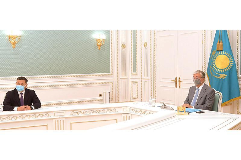Задействовать возможности МФЦА для восстановления экономического роста предложил Касым-Жомарт Токаев