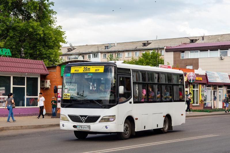 Как будет работать общественный транспорт в Петропавловске