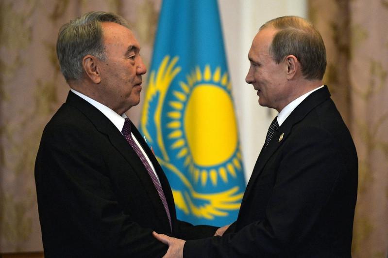 Владимир Путин записал специальное видеопоздравление для Елбасы