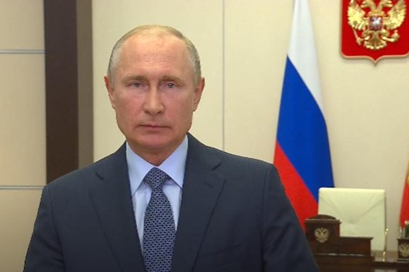 Vladimir Putin sends Elbasy a special congratulatory video message
