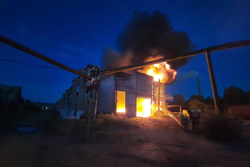Пожар самого высокого ранга опасности тушили в Павлодарской области