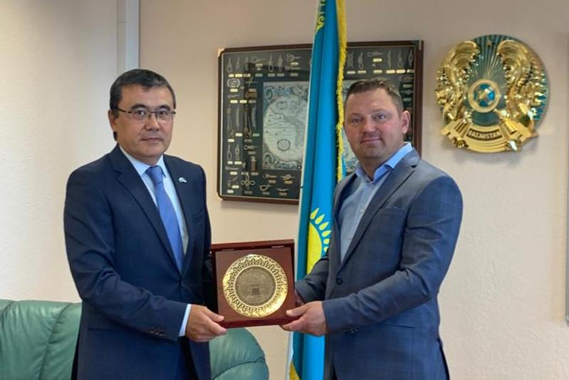 Honorary Consulate of Kazakhstan opens in Paldiski