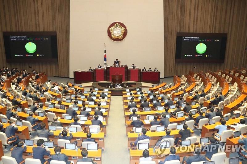 S. Korean assembly approves 3rd virus response extra budget worth 35.1 tln won